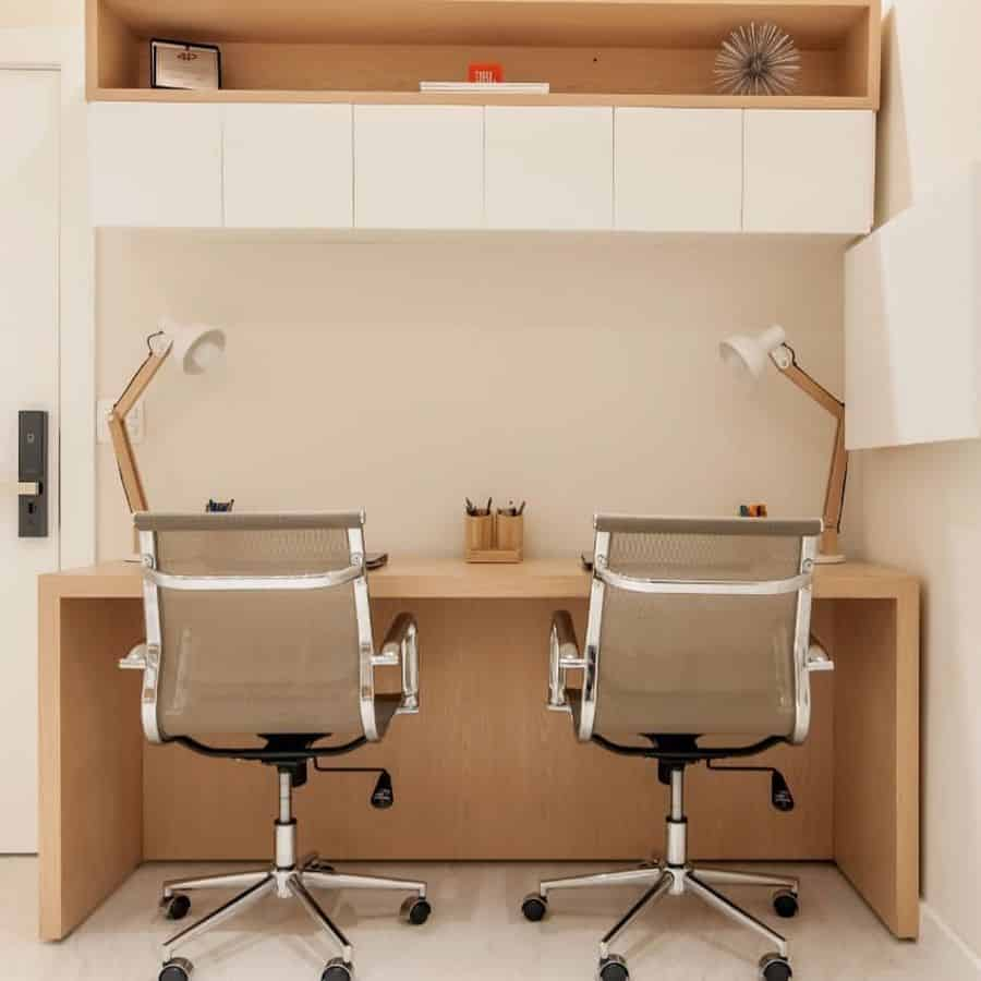two person home office desk ideas arqbarbaraestrella