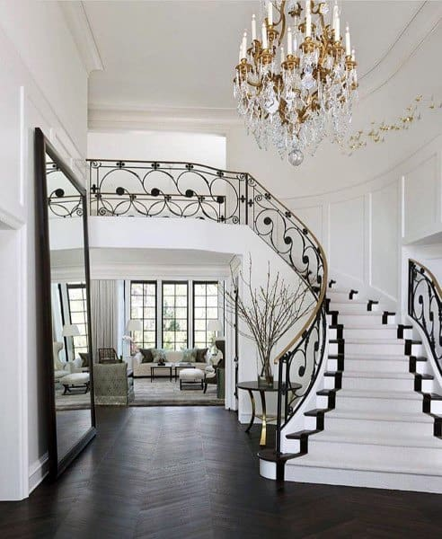 Two Story Foyer Decorating Ideas