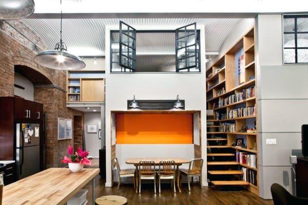 Two Story Loft Design Inspiration