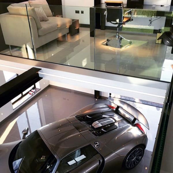 Two Story Office And Dream Garage