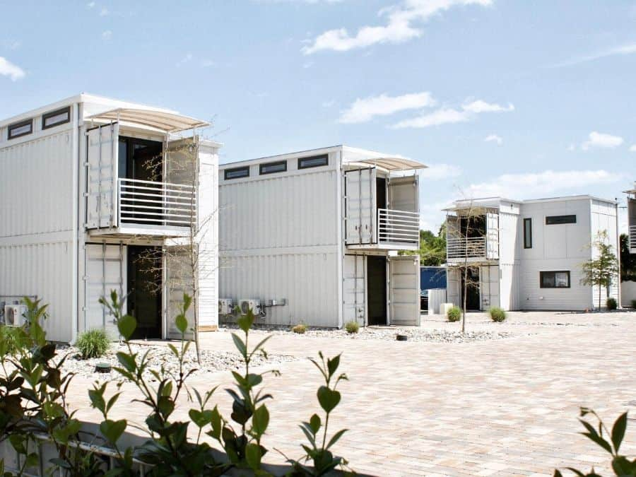 Two Story Shipping Container Home 2 Thecargodistrict