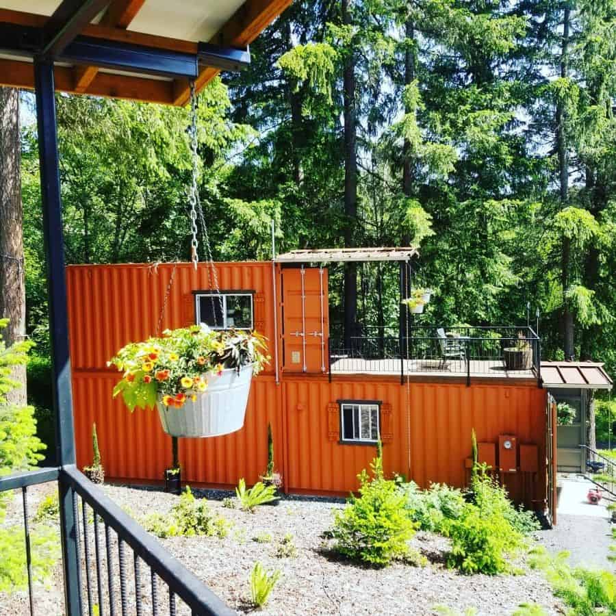 Two Story Shipping Container Home That Tiny Life Love