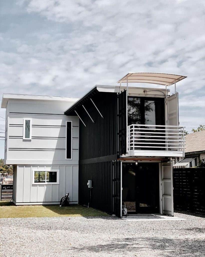 Two Story Shipping Container Home Thecargodistrict