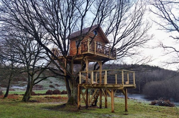 Two Story Treehouse Ideas