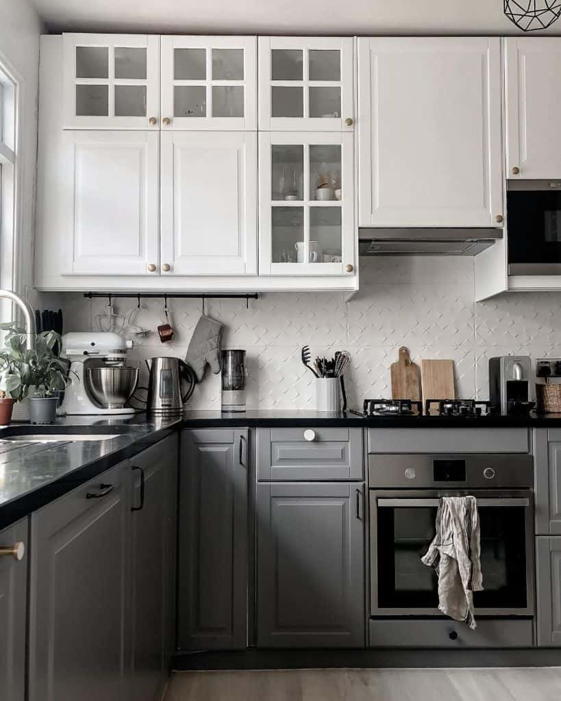 Two Tone Kitchen Paint Colors My Mindful Home