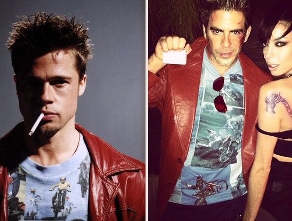 Tyler Durden Fight Club Best Mens Easy Halloween Costumes