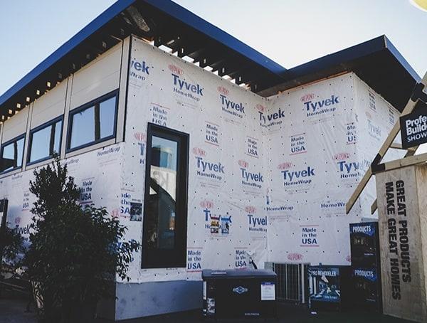 Tyvek House Wrap Installation 2019 Nahb Show Las Vegas