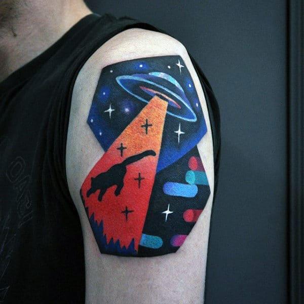 Ufa Amazing Mens Upper Arm Tattoos
