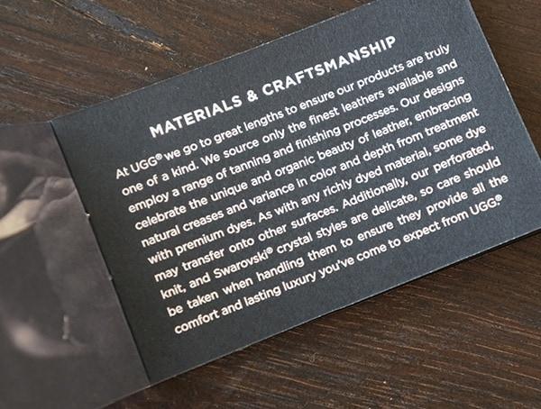 Ugg Boots Materials And Craftmanship