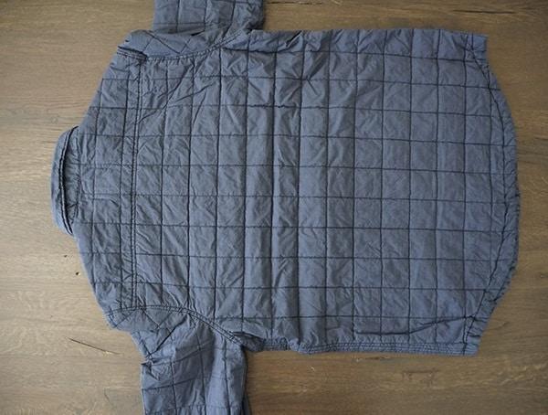 Ugg Trent Quilted Shirt Jacket For Men Back