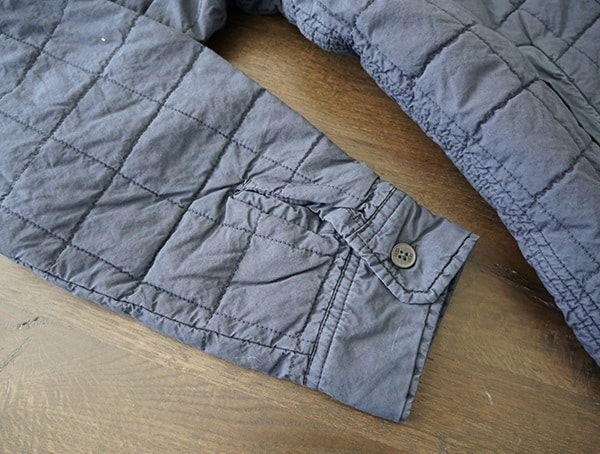 Ugg Trent Quilted Shirt Jacket For Men Sleeves