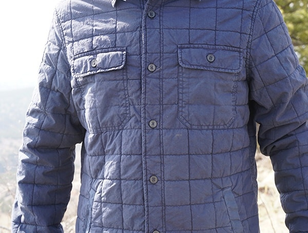Ugg Trent Quilted Shirt Jacket Mens Fashion