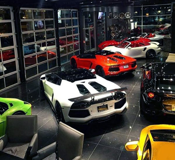 Top 100 Best Dream Garages For Men