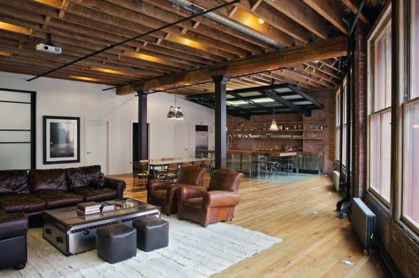 Ultimate Bachelor Pad Home Living Room Design Ideas