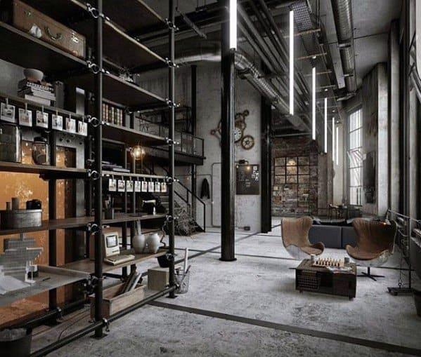 Ultimate Bachelor Pad Warehouse Loft