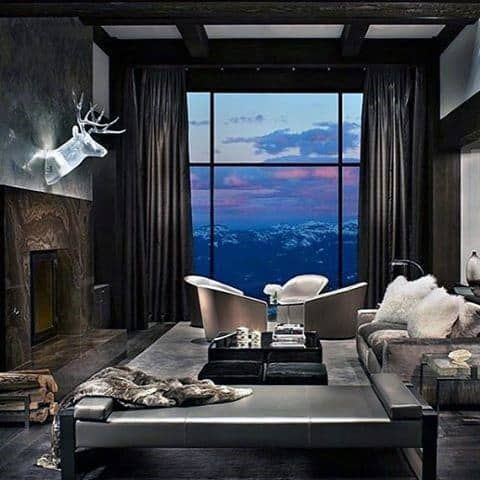 Ultimate Bachelor Pad With Luxury Grey Color Theme
