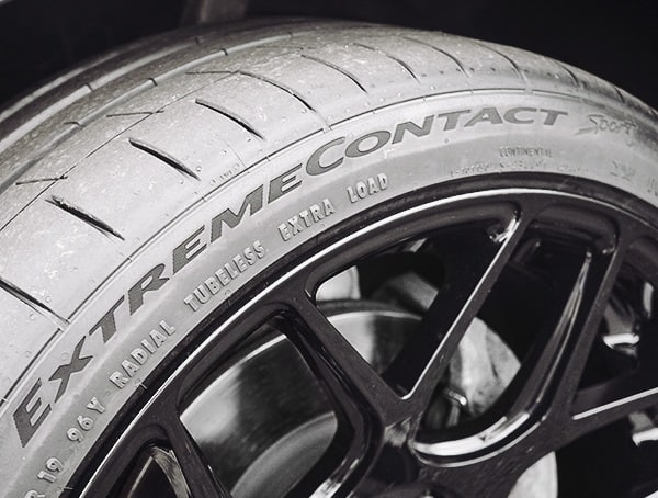 Ultra High Performance Summer Tires Continental Extremecontact Sport