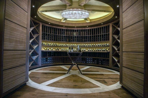 Ultra Luxury Designs Wine Room Ideas