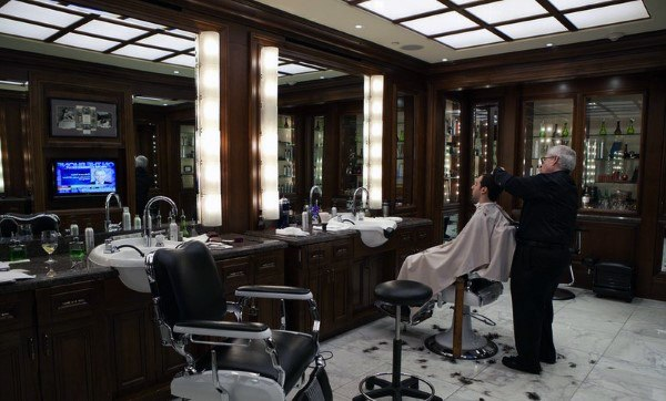 Ultra Luxury Fine Barber Shop Designs