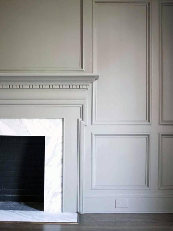 Ultra Luxury Fireplace Mantel Design