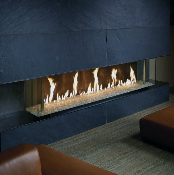 Ultra Luxury Gas Fireplace Designs
