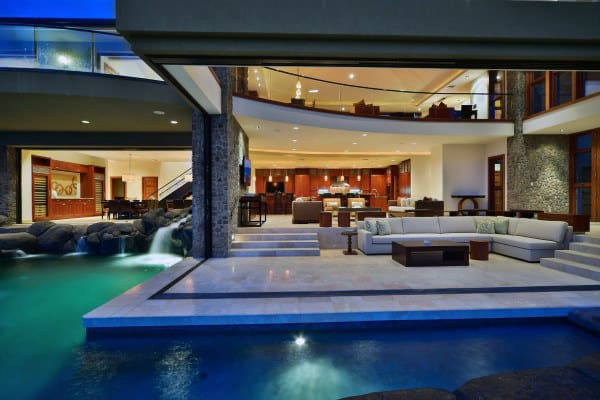 Ultra Luxury Home Swimming Pool Patio Designs