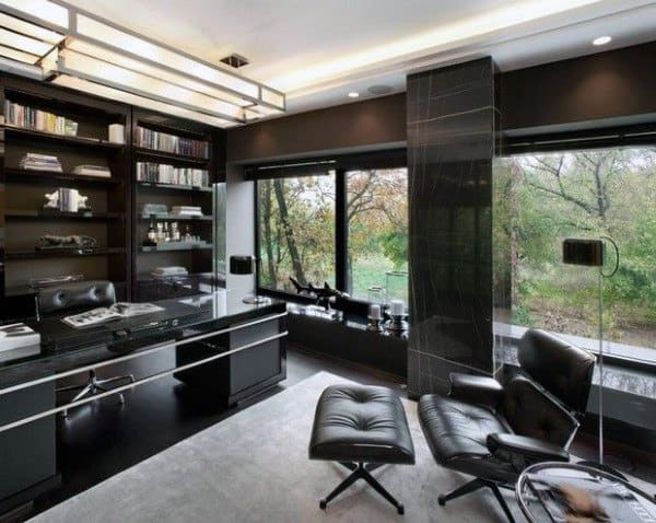 Top 70 Best Modern Home Office Design Ideas