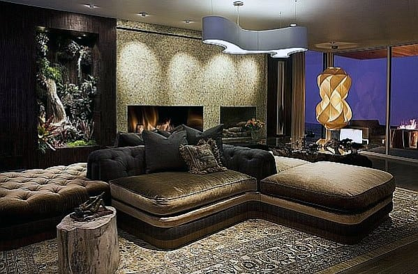 Ultra Luxury Modern Ultimate Bachelor Pad Designs
