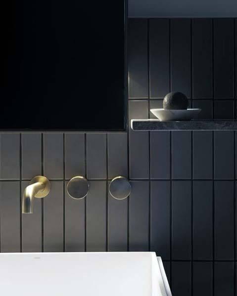 Modern Bathroom By Homify Modern: Top 60 Best Black Bathroom Ideas