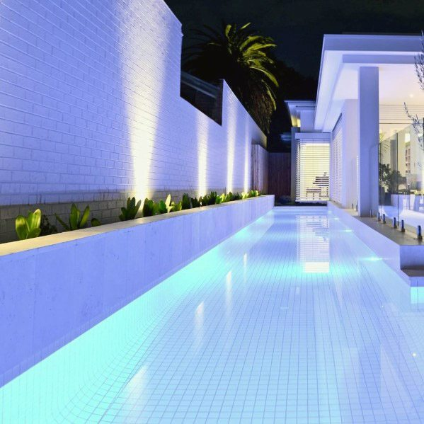 Ultra Modern Blue Led Cool Pool Lighting