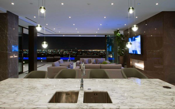 Ultra Modern Crystal Glas Balls Ideas For Kitchen Island Lighting