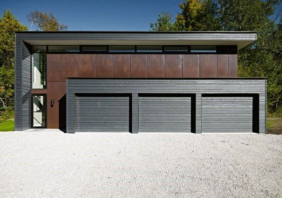 Ultra Modern Detached Garage Ideas