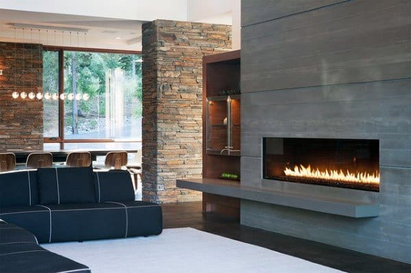 Ultra Modern Fireplace Design Inspiration