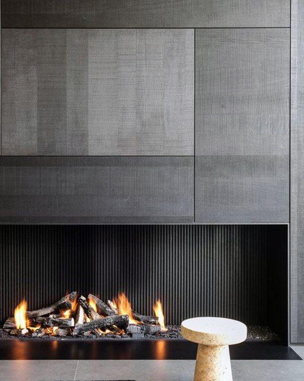 Ultra Modern Fireplace Designs