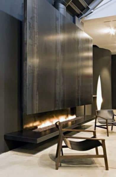 Ultra Modern Gas Fireplace Designs
