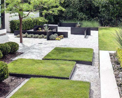 Ultra Modern Gravel Landscape Ideas