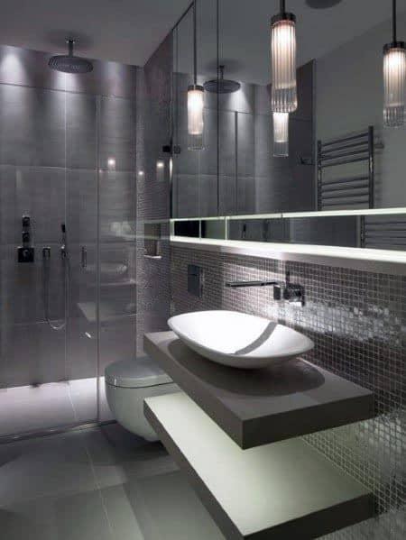 Ultra Modern Grey Bathroom Inspiration