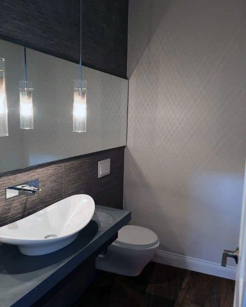 Ultra Modern Half Bath Ideas