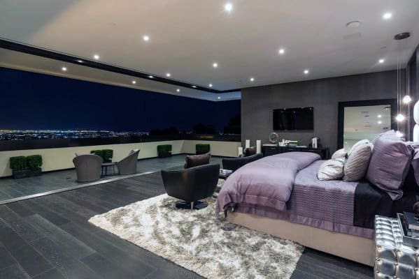 Ultra Modern Home Master Bedroom Design Inspiration