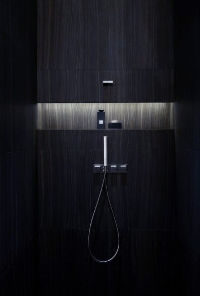 Ultra Modern Led Shower Niche Lighting Ideas