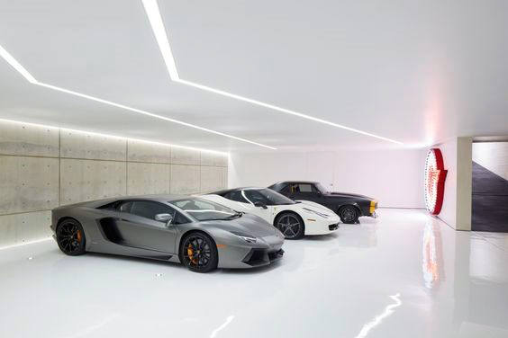 Ultra Modern Luxury Led Garage Lighting