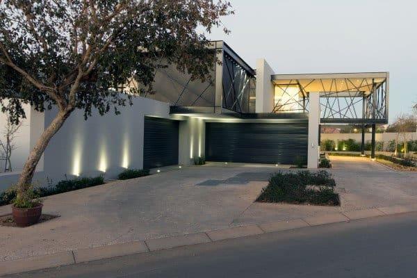 50 outdoor garage lighting ideas exterior illumination designs