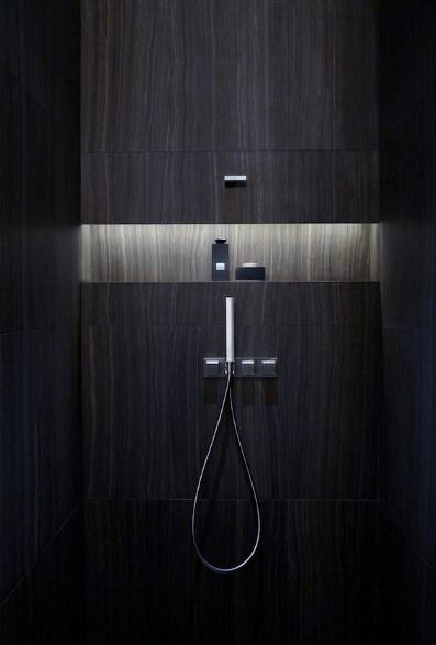 Ultra Modern Recessed Shower Niche Led Lighting