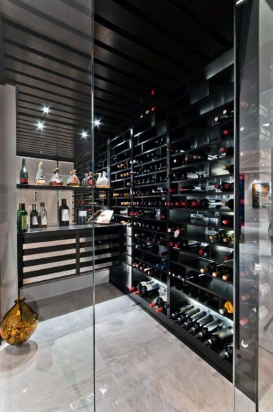Ultra Modern Wine Room Ideas
