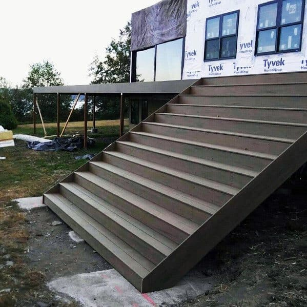 Ultra Wide Designs Deck Steps
