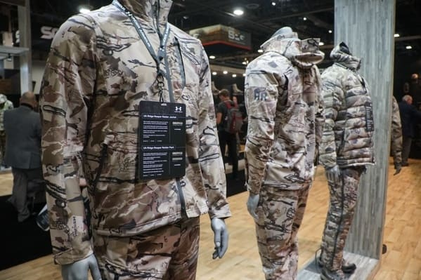 Under Armour Camo Hunting Clothing Collection