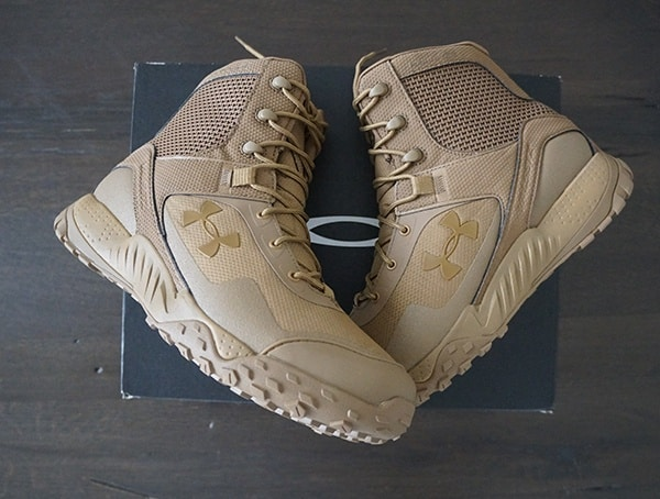 Under Armour Mens Tatical Boots Coyote Brown Valsetz Rts 1 5