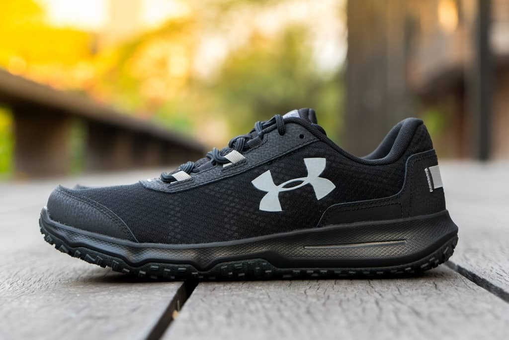 The Under Armour toccoca shoe