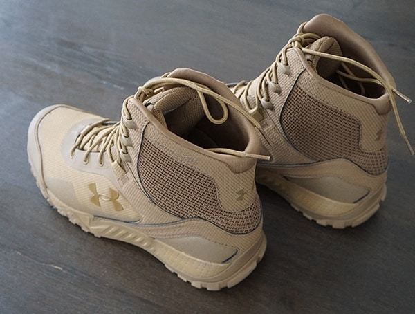 Under Armour Valsetz Rts 1 5 Mens Military Tactical Boot Heel Detail