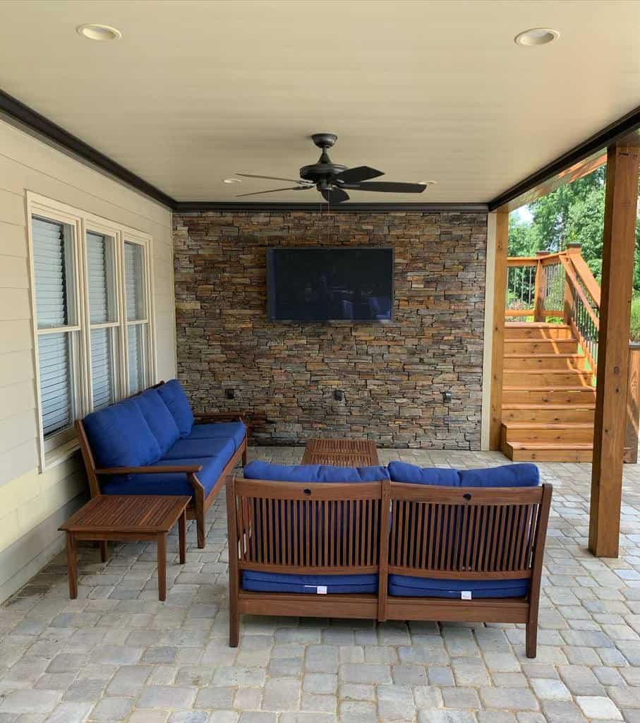 under deck patio deck ideas luke_johnsonn_
